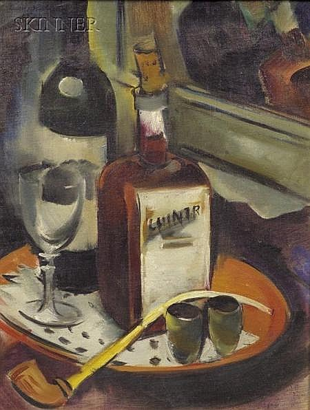 Rudolf Jacobi (German, 1889-1972) Nature Morte Signed and dated