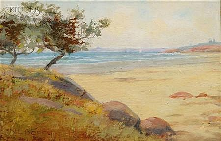 Nathaniel Leander Berry (American, 1859-1929) Whale Beach, Near Galloupe's Point, Swampscott...