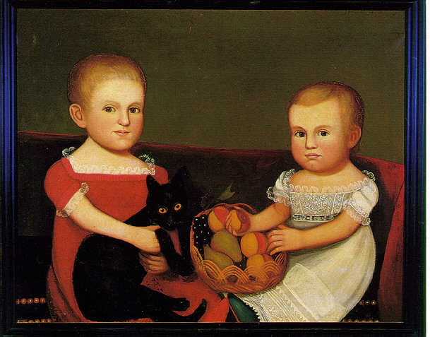 ZEDEKIAH BELKNAP (AMERICAN, 1781-1858) PORTRAIT OF THE FARLEY CHILDREN