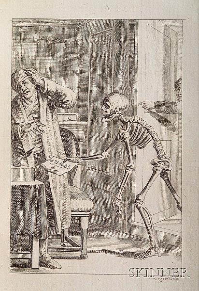 Schellenberg, Johann Rudolf (1740-1806), Freund Heins Erscheinungen in Holbeins Manier, Winterthur: ...