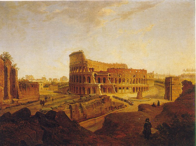 JEAN VICTOR LOUIS FAURE (FRENCH, 1786-1879) LOT OF TWO VIEWS OF ROME: