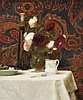 Paul Raymond Seaton (British, b. 1953), Still Life with Paisley, Monogrammed and dated