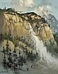 Thomas Andrew Nicholas (American, b. 1934) Yosemite Falls, Sierra Nevada, California Signed