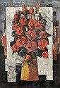 Tony Agostini (French, 1916-1990) Roses Rouges, 1959 Signed