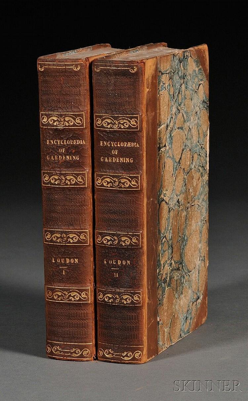 Loudon, John Claudius (1783-1843), An Encyclopaedia of Gardening..., London: Longman, Rees, Orme, Brown, and Green, [1827], fifth ed...