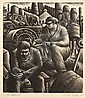 Paul Raphael Meltsner (American, 1905-1966) Lot of Three Images of Factory Workers: Death of a Striker, The Lockout, and The Outcast..., Paul R Meltsner, Click for value