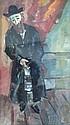 Ilya Schor (American, 1904-1961), Portrait of a Rabbi, Signed