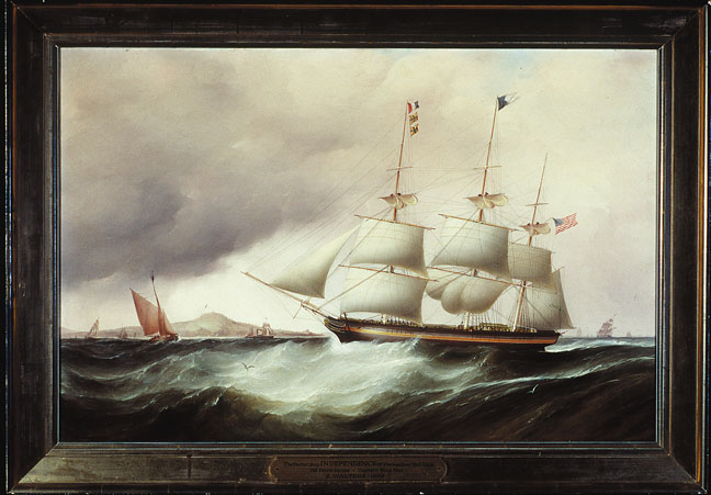 Samuel Walters (English, 1811-1882) The American Packet Ship