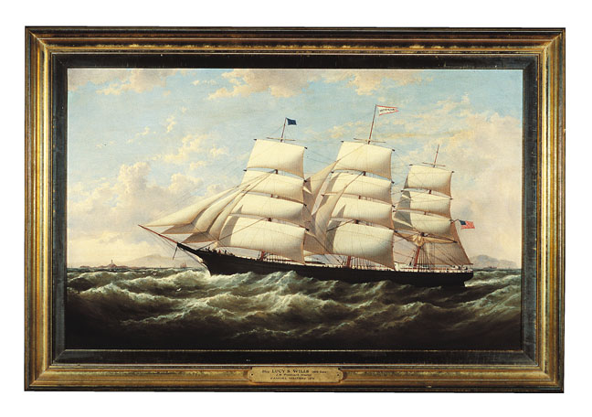 Samuel Walters (English, 1811-1882) The American Clipper Ship