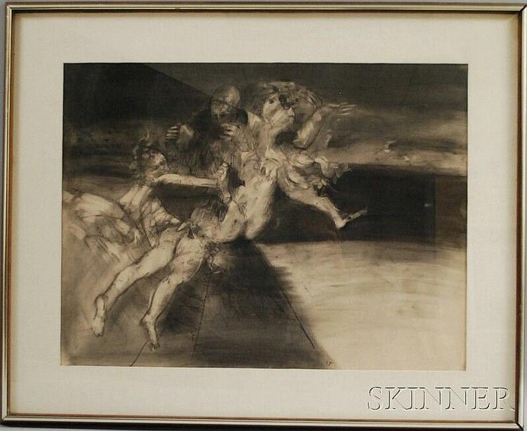 Steven Trefonides (American, b. 1926) Kali #1/#3. Signed
