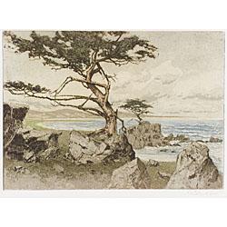Josef Eidenberger (Austrian, b. 1899) Lot of Five Prints: New York, Central Park,