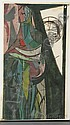 Adja Yunkers (Latvian/American, 1900-1983) Personal Epiphany Signed in pencil and dated 1953 l.r., titled l.l.Woodblock print, sheet si, Adja Yunkers, Click for value
