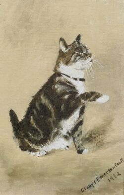 Gladys Emerson Cook (American, b. 1899), The Tabby, Signed and dated