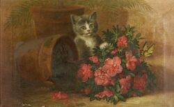 John C. Spencer (American, 1861-1919), Mischief Maker, Signed and dated