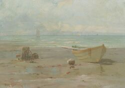 Nathaniel L. Berry (American, b. 1859), Lynn Beach, Signed