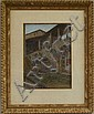 Sydney Richmond Burleigh (American, 1853-1931) San Gimignano, Podesta Signed, dated, and inscribed