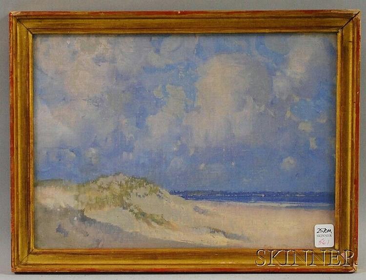Leslie Prince Thompson (Massachusetts, 1880-1963) Seaside Dunes. Signed and dated