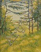 Dana Ripley Pond (American, 1881-1962) Scene from Family House Signed