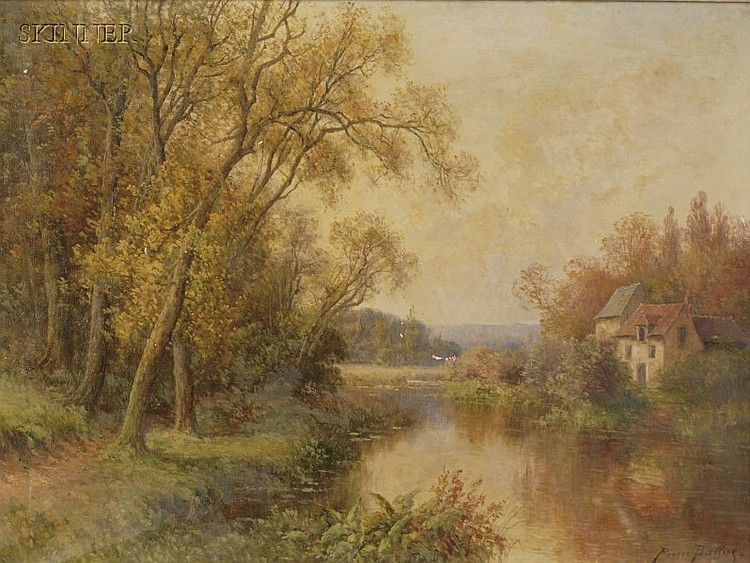 Pierre Ernest Ballue (French, 1855-1928) Hors Concours- Automne Signed