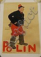 Adrien Barrere (1877-1931), Polin Lithograph Poster, C. H. Wall & Cie, Paris, linen-backed, 23 1/2 x 15 3/4 in., Adrien Barrère, Click for value