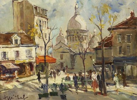 Andree Michel (French, 20th Century)