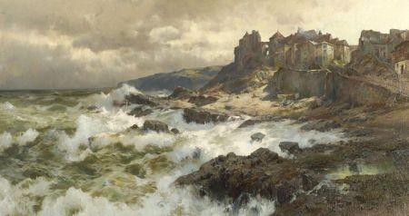 Jacques Matthias Schenker (German, 1854-1927)
