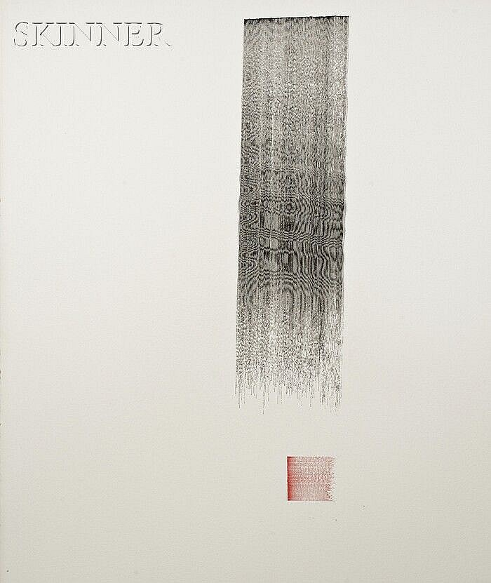 Daniel Brush (American, b. 1947) Koald 93: ZO, c. 1981 Titled, signed, and inscribed