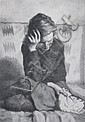 JACK BOOKBINDER (American, 1911-1990). ACIA, signed, dated 1974, titled and numbered 13/100 in pencil lower margin. Lithograph., Jack Bookbinder, Click for value