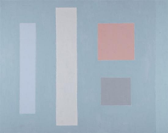 JACOB KAINEN (American, 1909 - 2001). UNTITLED 1981, signed and dated 81 upper left. Oil on canvas.