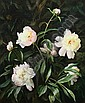 HARRY LANE (American, 1891-1973). PEONIES, signed lower left. Oil on board., Harry Lane, Click for value