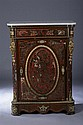 NAPOLEON III GILT-METAL MOUNTED, BOULLE INLAID AND MAHOGANY SIDE CABINET, Third quarter of the 19th century. - 43 in. x 31 1/4 in. x 15