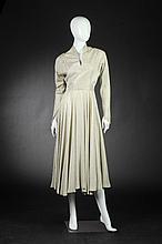 HENRI BENDEL BROCADE DINNER DRESS, 1950s-1960s.