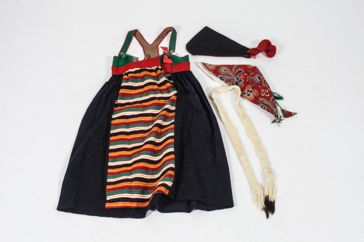 COSTUME - CHILD'S SWEDISH COSTUME.