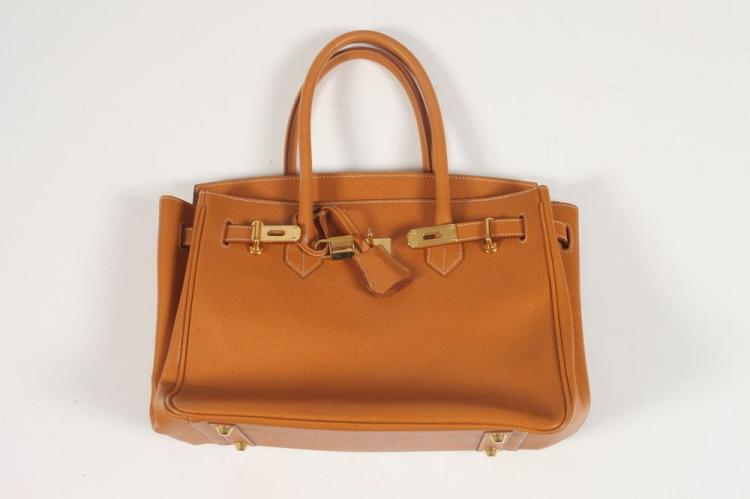 CARAMEL COLOR BAG INSPIRED BY HERMES