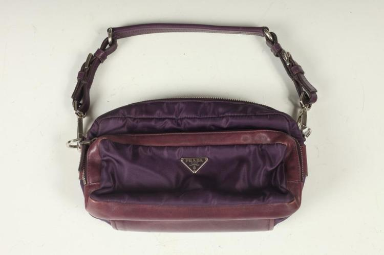PURPLE PRADA BAG.