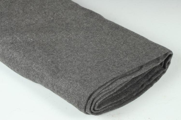 ZEGNA GREY CASHMERE FABRIC.
