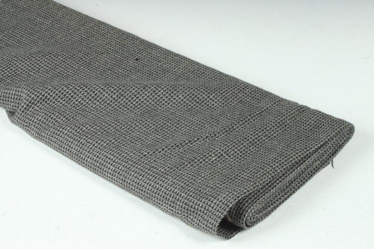 GREY AND BLACK WOOL FABRIC.
