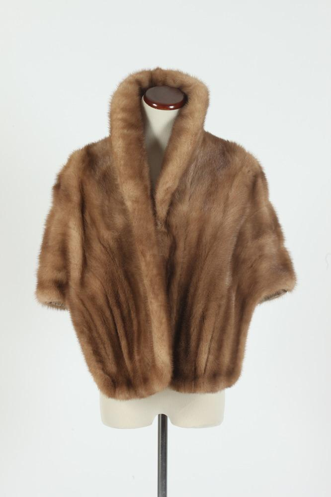 VINTAGE FUR STOLE FROM THE RIKE-KUMLER,