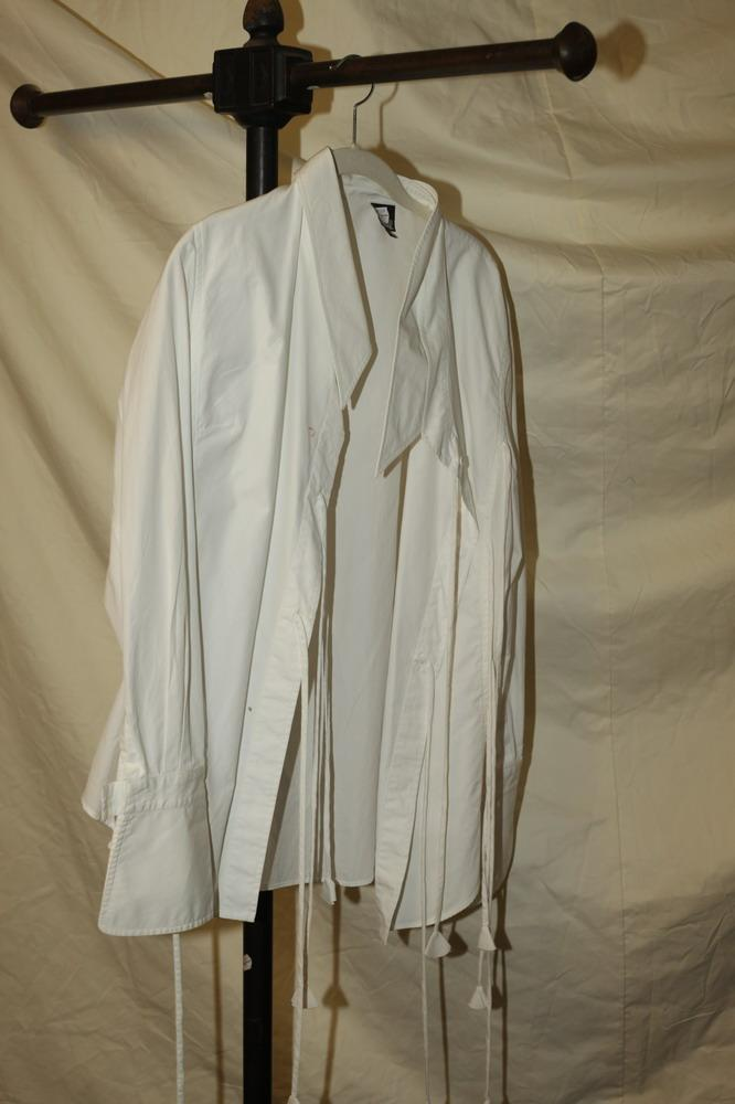 GIANCO FERRE WHITE SHIRT, size 44.