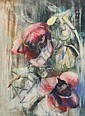 WILL SOHL (American, 1906-1969). FLORAL STILL LIFE, signed lower left. Pastel.