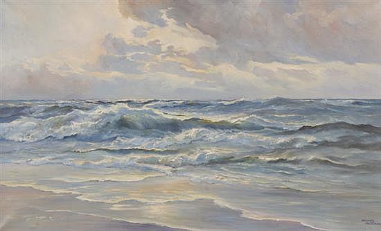 MEEUWIS VAN BUUREN (Dutch circa 1905-1992).