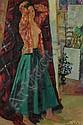 LUIGI CORBELLINI (Italian, 1901-1968). THE YOUNG MODEL, signed lower right; also titled on reverse. Oil on canvas., Luigi Corbellini, Click for value