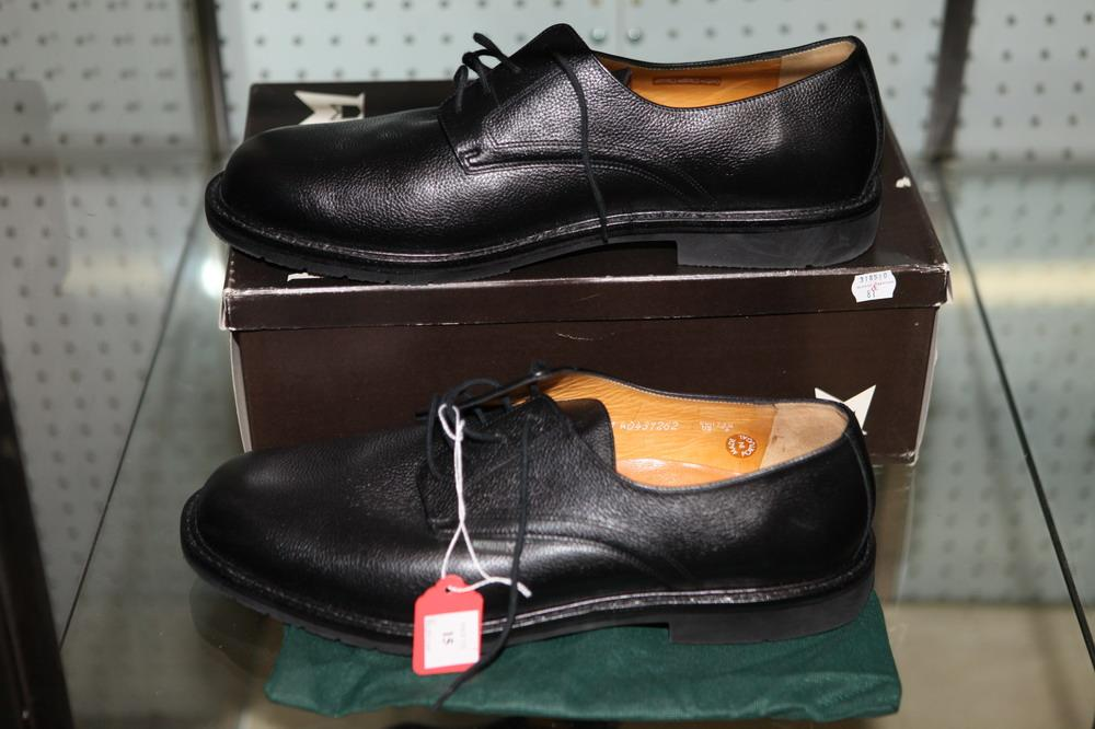 Sold Price: MEN'S SHOES: MEPHISTO BLACK LEATHER , size 14 1/2. - September 5, 0118 11:00 AM EDT