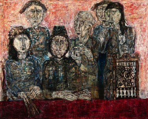 HANNO EDELMANN. (German, born 1923). DIE LOGE, Sig