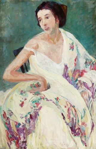 SARAH SEWELL MUNROE (American, 1870-1946). WOMAN