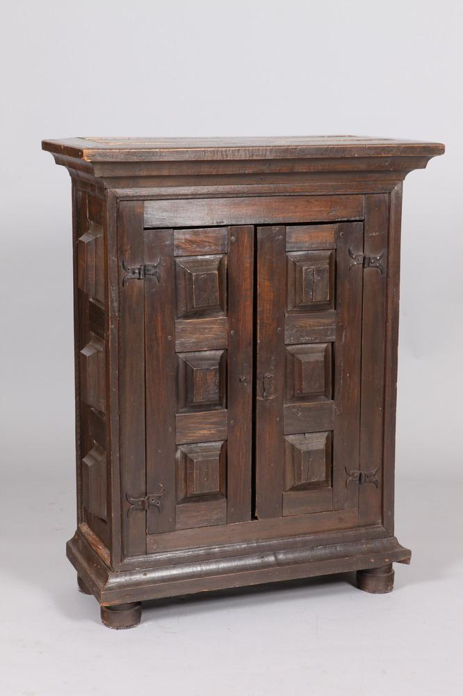 20TH CENTURY BRAZILIAN TWO DOOR CABINET, 19th Century. - 47 1/8