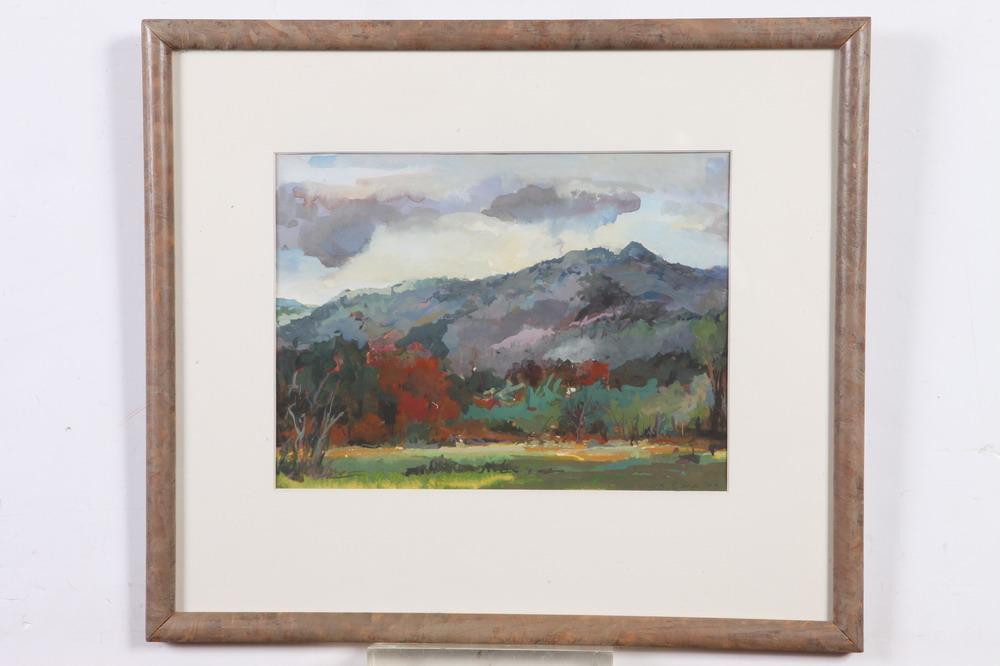 BILL EVANS (American, 20th century). KEENE VALLEY, signed