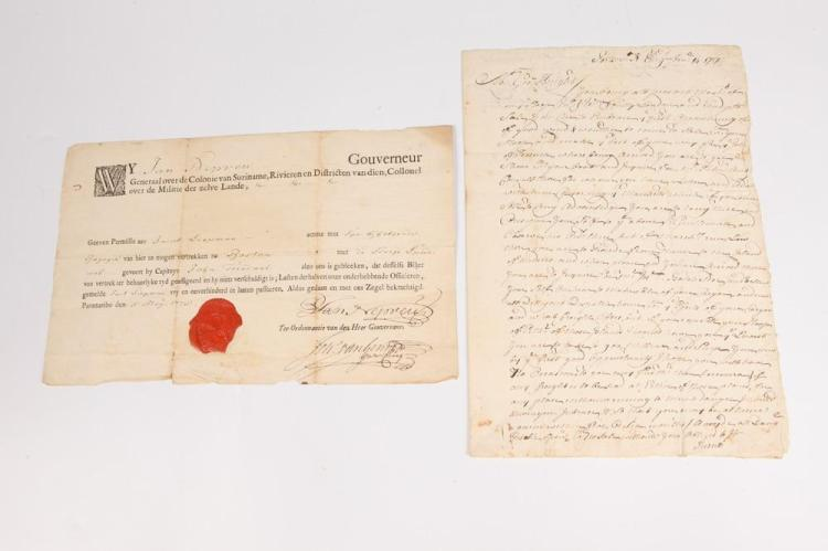 [NEW ENGLAND COMMERCE] , AUTOGRAPH LETTER SIGNED BY JOHN KNIGHT.