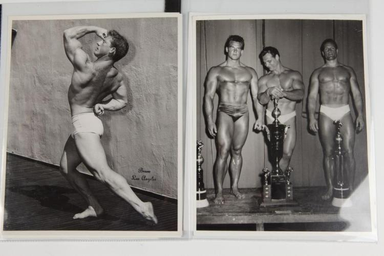 BRUCE OF LOS ANGELES, GAY INTEREST, 1950's-1960's. - All images 10 in. x 8 in.