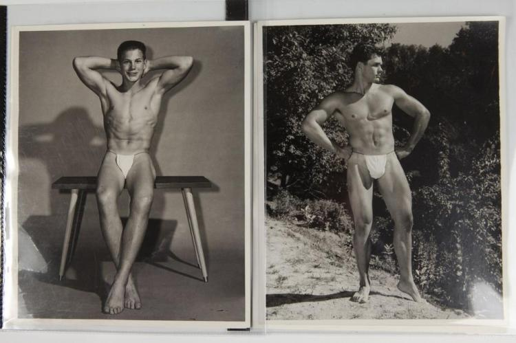BRUCE OF LOS ANGELES, GAY INTEREST, circa 1950's-1960's. - All images 10 in. x 8 in.